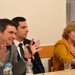 Az előadók és a levezető elnök