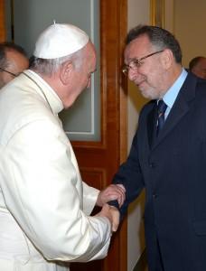 Ferenc pápa és Heisler András